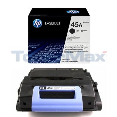 HP LASERJET 4345 PRINT CART BLACK